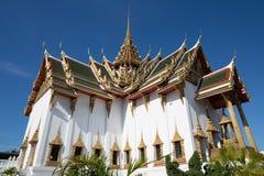 Tempel av Emerald Buddha, storslagen slott, Bangkok, Thailand Fotografering för Bildbyråer