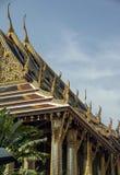 Tempel av Emerald Buddha, storslagen slott, Bangkok, Thailand royaltyfria foton