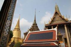 Tempel av Emerald Buddha, Wat Phra Kaew Royaltyfri Foto