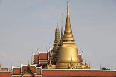 Tempel av Emerald Buddha, Wat Phra Kaew Arkivfoto