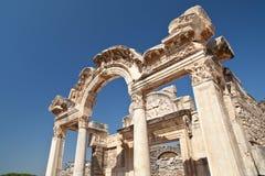 Tempel av Ephesus Royaltyfri Fotografi
