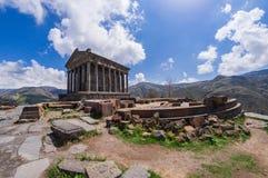 Tempel av Garni Fotografering för Bildbyråer