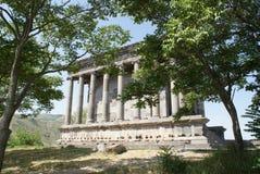 Tempel av Garni, Armenien Arkivbilder