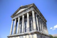 Tempel av Garni, Armenien Royaltyfri Bild