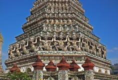 Tempel av gryning: beståndsdel Royaltyfri Fotografi