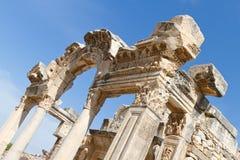 Tempel av Hadrian Royaltyfria Bilder