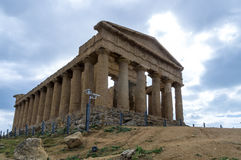 Tempel av harmoni, Agrigento Royaltyfria Foton