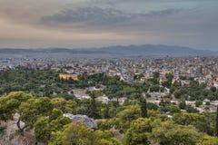 Tempel av Hephaestu Royaltyfri Fotografi
