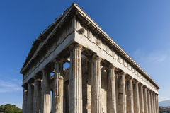 Tempel av Hephaestus Arkivfoton