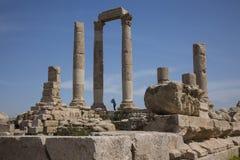 Tempel av Hercules Royaltyfri Foto