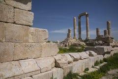 Tempel av Hercules Royaltyfri Bild