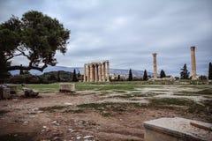 Tempel av Hercules royaltyfri fotografi