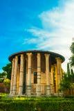 Tempel av Hercules Victor, Rome royaltyfri fotografi