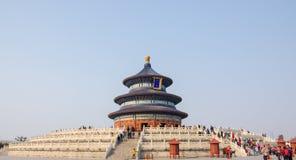 Tempel av himmel Arkivfoto