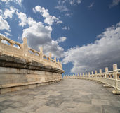 Tempel av himmel (altaret av himmel), Peking, Kina Royaltyfri Fotografi