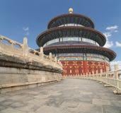 Tempel av himmel (altaret av himmel), Peking, Kina Arkivbilder