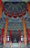 Tempel av himmel, Beijing, Kina Arkivbilder