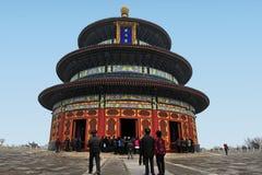 Tempel av himmel i Beijing Kina Arkivfoto