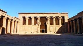 Tempel av Horus Arkivbild