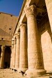 Tempel av Horus i Edfu arkivfoto