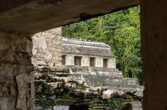 Tempel av inskrifter arkivfoton