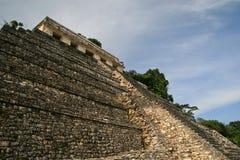 Tempel av inskrifterna/Palenque, Mexico Royaltyfri Bild
