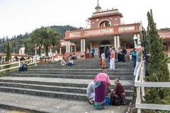 Tempel av ISKON Royaltyfria Bilder