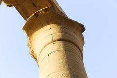 Tempel av Karnak - Egypten Arkivbilder