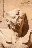 Tempel av Karnak, Egypten royaltyfri fotografi