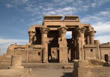 Tempel av Kom Ombo Royaltyfri Bild