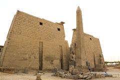 Tempel av Luxor Royaltyfri Bild
