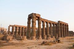 Tempel av Luxor Arkivbild