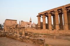 Tempel av Luxor Fotografering för Bildbyråer