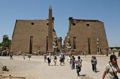 Tempel av Luxor Royaltyfria Bilder