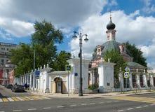 Tempel av martyren för St Catherine The Great royaltyfri bild
