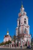 Tempel av Nikita martyren på Staraya Basmannaya moscow Royaltyfria Foton