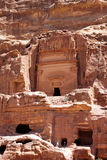 Tempel av Petra Arkivfoto