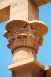 Tempel av Philae på Aswan, Egypten Royaltyfri Foto