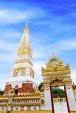 Tempel av Phra, som Phanom Stupa, den viktiga Theravada buddisten strukturerar i regionen in i det Nakhon Phanom landskapet, Thai Royaltyfria Bilder