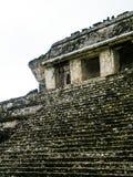 Tempel av räkningen - Palenque - Chiapas Royaltyfri Fotografi