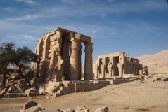 Tempel av Ramesses II Arkivfoton