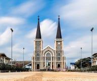 Tempel av Roman Catholic Church 17/04/2017 Royaltyfria Foton