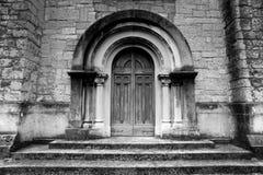 Tempel av segern - San Pellegrino Terme - dörr arkivfoton