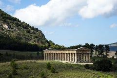 Tempel av Segesta Arkivbilder