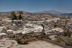 Tempel av Segesta Royaltyfri Fotografi