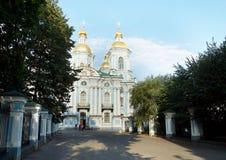 Tempel av St Nicholas och epiphanyen Royaltyfri Foto