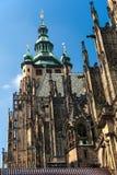 Tempel av St. Vitus i Prague 1 arkivfoton