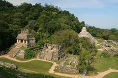 Tempel av The Sun/Palenque, Mexico Fotografering för Bildbyråer