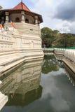 Tempel av tanden och Royal Palace - Kandyen, Sri Lanka Arkivfoton