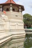 Tempel av tanden och Royal Palace - Kandyen, Sri Lanka Fotografering för Bildbyråer